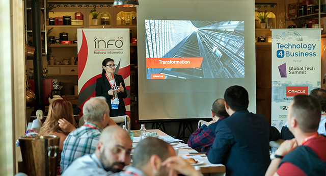 """Strong finish for Technology4Business with Lora Ivanova and """"Oracle Cloud Story"""""""