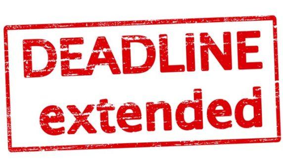 Application Deadline Extended to June 15